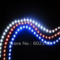 Hot selling flexible waterproof led strip light car bulb various color 72cm 10pcs/lot free shipping!