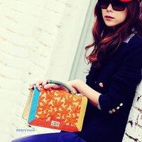 Retro Leisi snake pattern bag handbag Shoulder Messenger pu bags