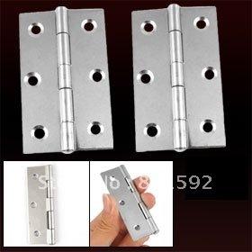 """10 pair Silver Tone 3"""" Butt Hinge for Door Window Cabinet"""
