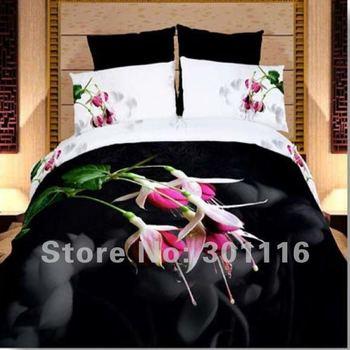 Excellent  Pastorable sunflower natural printed cotton bed sheet set  /duvet cover set /comfoter /quilt/bedding set