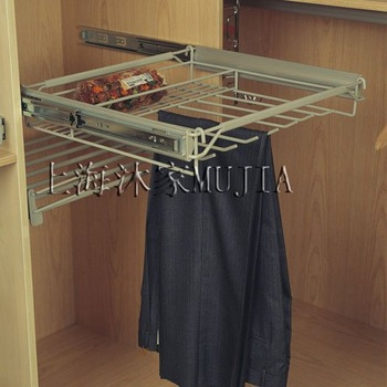 Chest adjustable Rail Trousers rack,pants rack,500,arduous Weight type,MJ8027,Factroy wholesale&retail