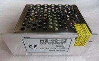 12V/40W switch mode power supply;size:84*58*38mm