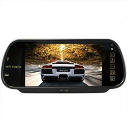 7 Inch MP5 SD USB Player FM Remote Controller Rearview Mirror Car Monitor(China (Mainland))