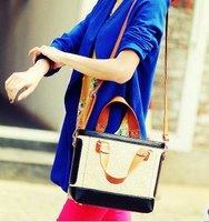 Crocodile pattern shoulder bag Messenger bag handbag fashion pu bags