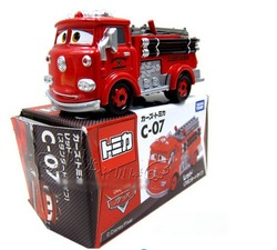 CARS 2 Fire Truck Small Die cast Alloy Car, Great toy for kids(China (Mainland))