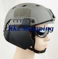 Airsoft Tactical Helmet arc Rail for helmet  Side Cover black