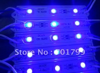 3pcs 5050smd led module;blue color