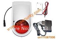free shipping 2 pieces Outdoor sound&flash siren/ Outdoor strobe siren / Wireless siren for alarm system