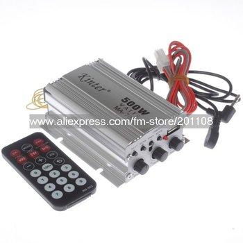 F276B 60PCS/lot Kinter MA-700 2 Channel 500W USB AUX FM MP3 Car Audio Amplifier