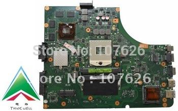 K53SV laptop motherboard for ASUS laptop INTEL I7 NVIDIA gt540 2G RAM CHIP