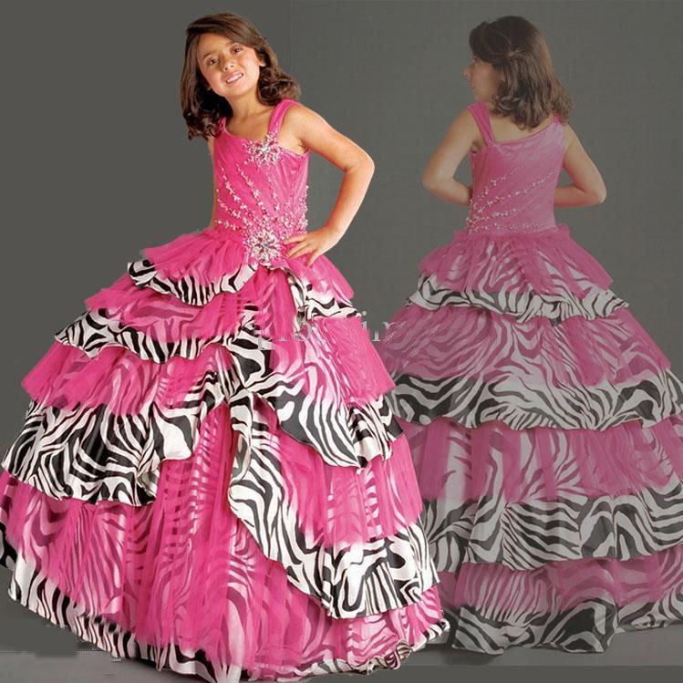 Stunning Pageant Dresses for Girls Flower Print 749 x 749 · 120 kB · jpeg