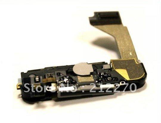 Для iPhone 4 док док-порта антенной звонка микрофон белый