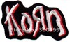 "Wholesales 100pcs/lot Rock band patch  heavy metal ""KORN"" - R1009"