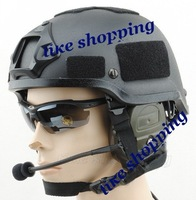 tactical Helmet with SOPMOD NVG Mount Black free ship