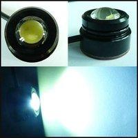 Free Shipping White 1.5W Per LED 12V car led reversing light eagle eye lamp Backup Stop Tail daytime running light  IP68