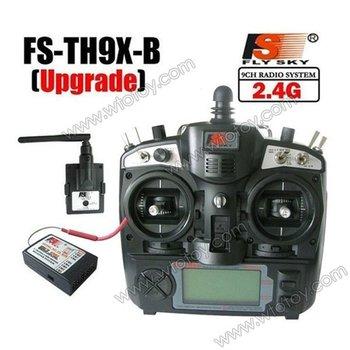 FlySky 2.4Ghz 9CH FS-TH9X-B/TH9B TX Transmitter & FS-R8B Receiver Radio Control 12901
