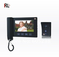 """RL-09ID EMS Free shipping 7"""" Hands free Color Video Door phone with CE FCC cetificates"""