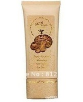Wholesale Free Shipping 100% Quality Guarantee SKIN FOOD Mushroom Multi -Care BB Cream SPF20 PA+/ Skin Care Cream 50g 12pcs/lot