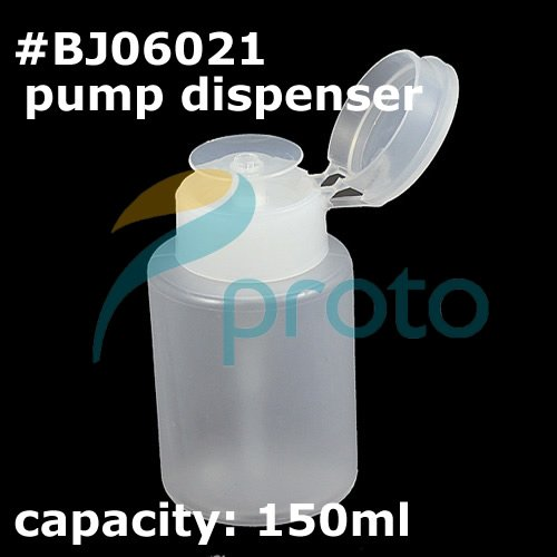 free shipping-Wholesale pump dispenser for nail art acetone and polish remover SKU:F0022XXX(China (Mainland))