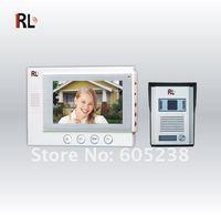 "RL-06 EMS Free shipping 100-240V Ultra-thin 7"" Color Video Doorphone"