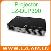 Проектор support drop shipping 40 Lumens 320x240 1~3.8m Project Distance Mini LCD Portable Projector LZ-600A