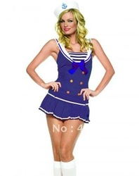 Shipmate sexy Cutie sailor Costume 1148 Sailors sexy costumes Nay blue + fast delivery(China (Mainland))