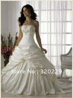 2012 Stock the picture color Wedding Brides Dress size 6 8 10 12 14 16   LJ308