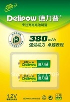 Delipow AAA 1.2V NI-CD 380MA  Quality nickel-cadmium rechargeable batteries genuine AAA-380 MA USD0.6/pcs only