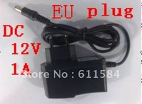 AC 100-240V to DC 12V 1A Power Adapter Supply Charger For LED Strips Light EU Plug Free Shipping