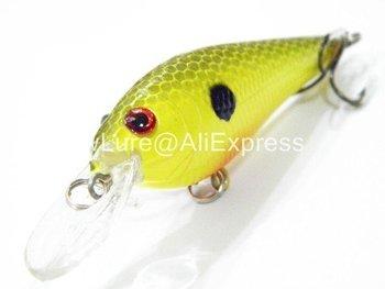 Fishing Lure Crankbait Hard Bait Fresh Water Shallow Water Bass Walleye Crappie Minnow Fishing Tackle C81X2