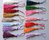 15 different colors  150PCS / LOT  tassel for hanging free shipping