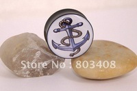 Anchor Line Rope  saddle ear plug flesh tunnel ear expander body piercing jeweley mixing sizes  EFPLG04001
