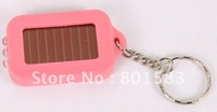 HOT SALE  100 /LOT FREE SHIP PORTABLE 3 LED FLASHLIGHT SOLAR POWERED FAST DROP SHIP