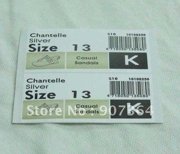 printed paper sticker & pvc label