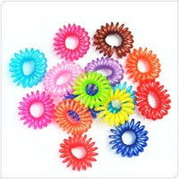 200pcs/lot Free Shipping  fashion hair styling tool,Phone cord elastic hairbands ,hair accessories wholesale Ll-01-150