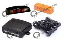 12V ultrasonic waterproof reverse sensor -Parking sensor no holes need to be drilled LED display parking sensor kits