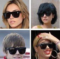 100% UV resistance  material vintage fshion Super flat top women's sunglasses(3color mix) SN-015