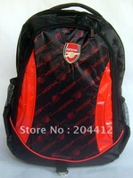 Arsenal FC Soccer Shoulder Bag Backpack Outdoor Sports Fans Souvenir Satchel
