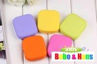 New cute candy colors contact lenses box & case /  lens Companion box / Wholesale