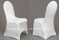 Free Shipping white spandex chair cover /Wedding banquet chair cover