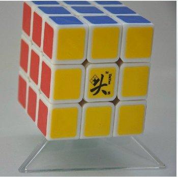 Free shipping of  Dayan 4 LunHui 3x3x3 black or white 3x3 magic cube