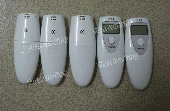 MINI Digita breath alcohol tester Breathalyzer Alcohol, alcohol breath tester without retail packing 200pcs/lot