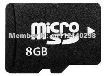 REAL 8GB Class 4 Micro SDHC/TF Flash Memory Card, 8 GB genuine brand new Cards Bulk package 100pcs/lot, free DHL