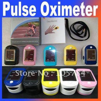 New Healthcare Fingertip Pulse Oximeter,SPO2 Monitor,5 Colors for optional