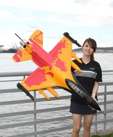 ARF(Kit) Orange  Version  /  RC F-16 jet plane with 70mm EDF / This ARF(Kit) Version without motor and without any equipment