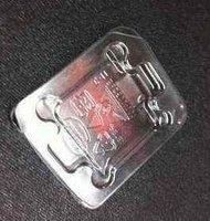 Freeshipping  50pcs Intel 775 CPU BOX Holder case CPU plastic protect box transparent box new