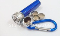 Mail Free + 5PCs 9104 Laser Pointer High Quality Flashlight  Waterproof Mini Torch+Carabina Hook+3*LR44 Battery