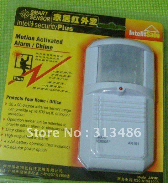 SMART SENSOR ,cheap wholesale Magnetic Sensor Door Alarm Chime AR161(China (Mainland))