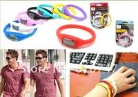 30pcs/lot waterproof  Wristwatches Anti vibration Anion decompression Sports Watch