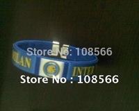 inter milan bule  fashion wristband / sports bracelet   2pcs